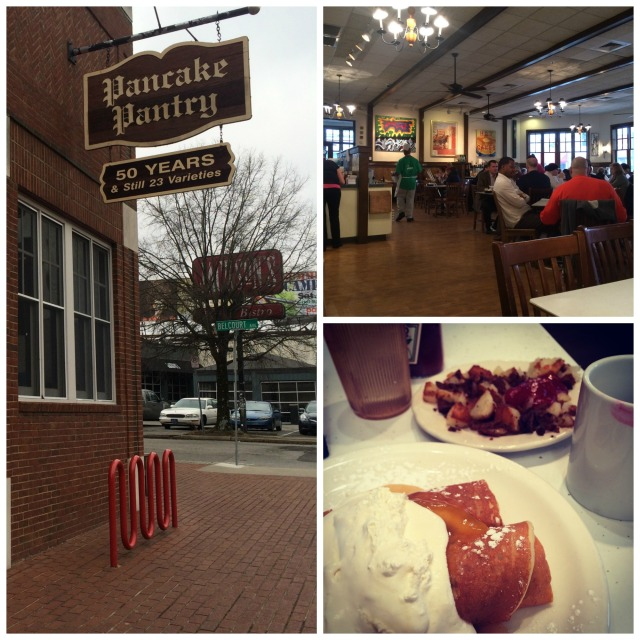 Pancake Pantry Collage
